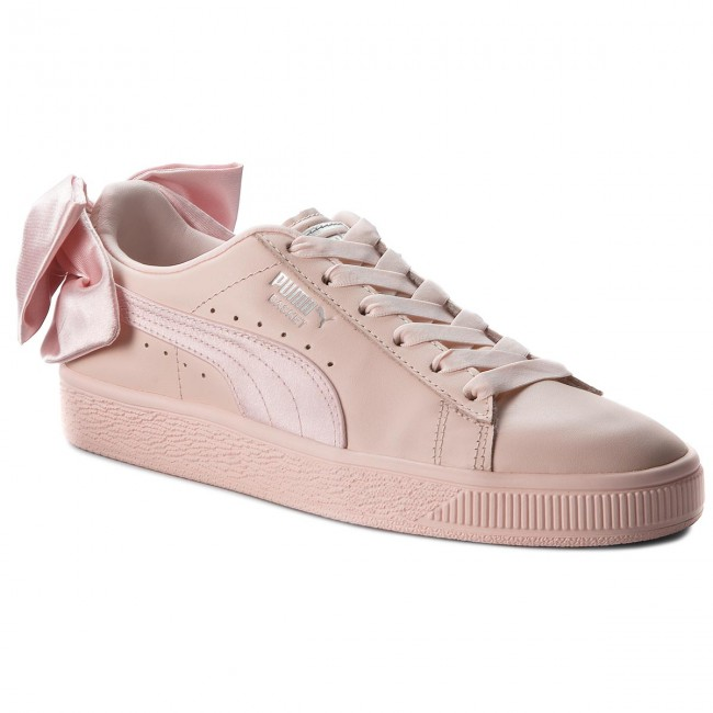 Sneakers PUMA                                                    Basket Bow Wn s 367319 02 Pearl/Pearl