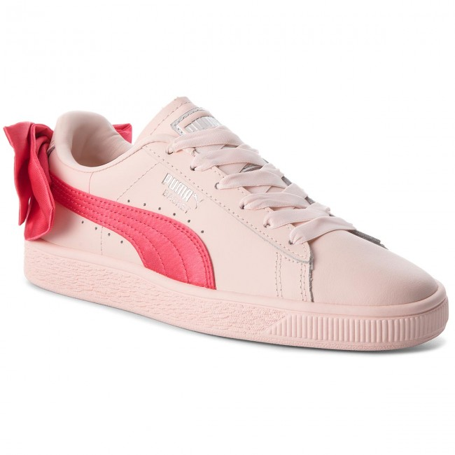 Sneakers PUMA       PUMA                                               Basket Bow Jr 367321 02 Paradise Pink/Paradise Pink 9c917a