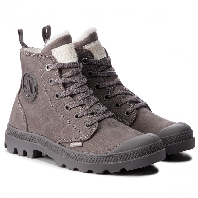 Trapperschuhe PALLADIUM                                                      Pampa Hi Zip Wl 95982-055-M Cloudburst/Charcoal Gray a89d0e