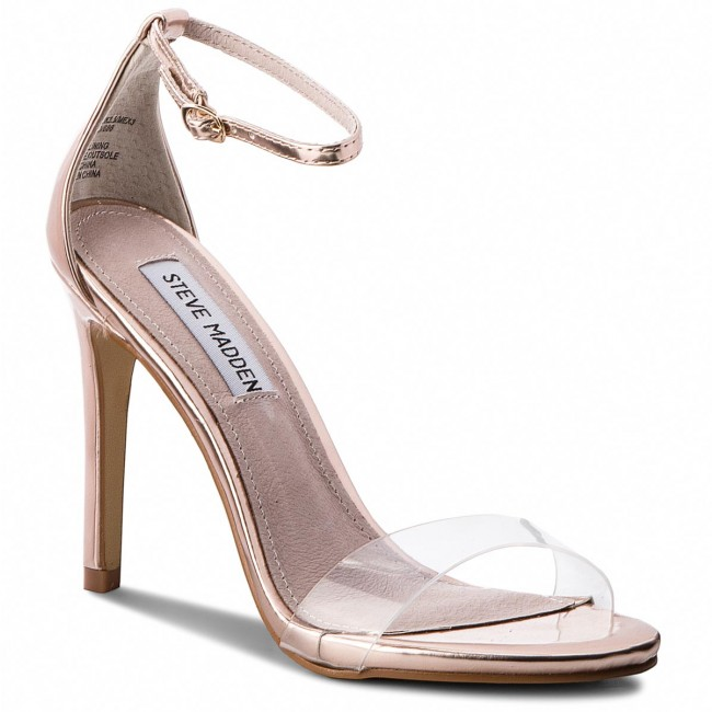 Sandalen STEVE MADDEN                                                      Stecy-C High Heel Sandale 91001144-07099-15002 Rose Gold b93588
