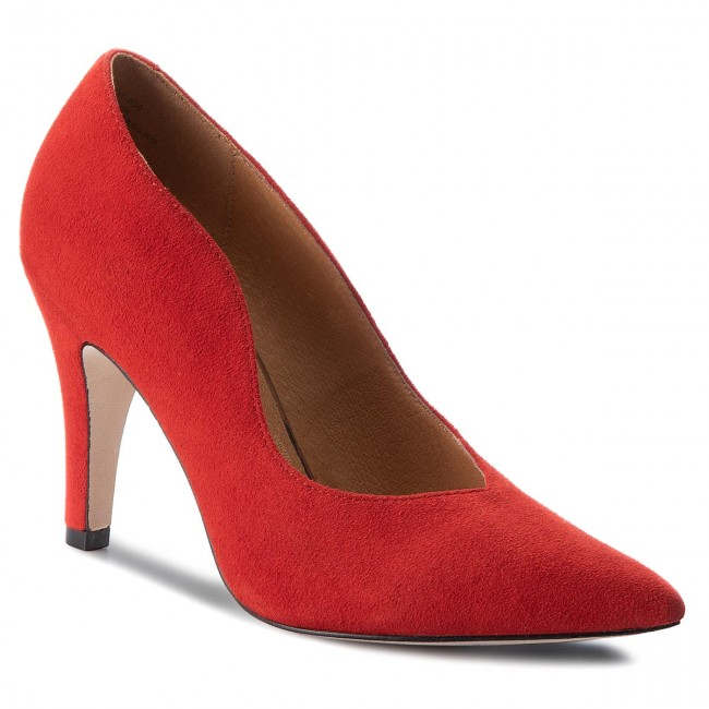 High Heels CAPRICE                                                    9-22412-21 Red Suede 530