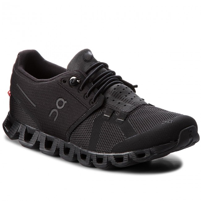 Schuhe ON-Cloud 000019 All Black 0003 Werbe Schuhe