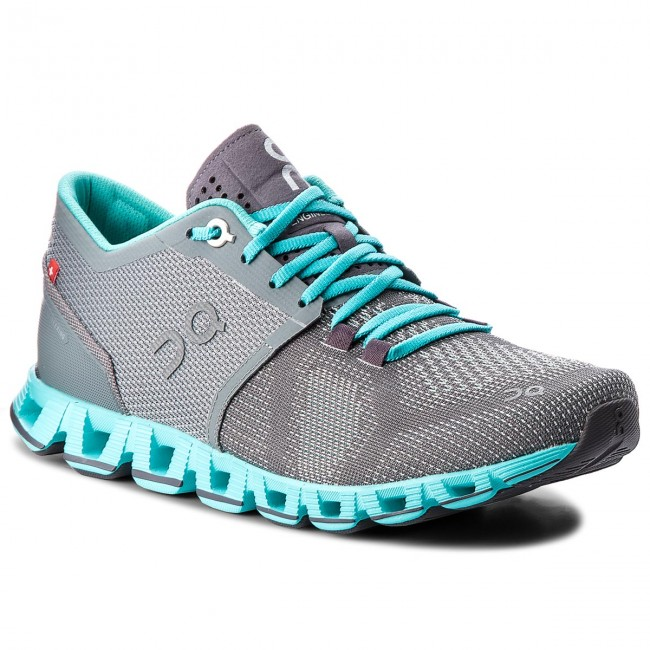 Schuhe ON                                                      Cloud X 000020 Grau/Atlantis 4301 a03a31