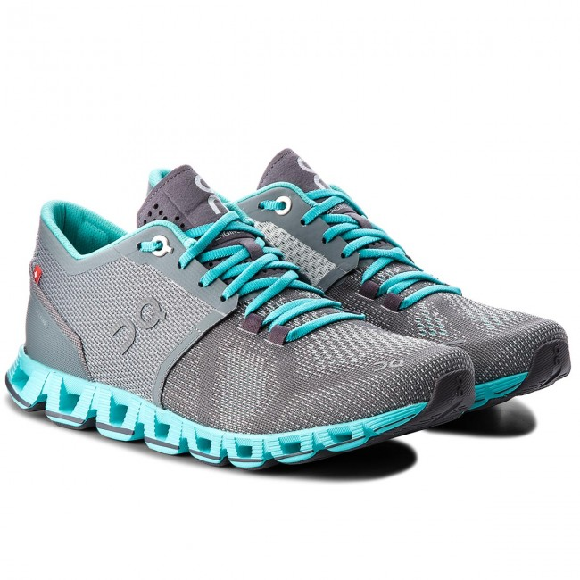Schuhe ON                                                      Cloud X 000020 Grau/Atlantis 4301 ff0819