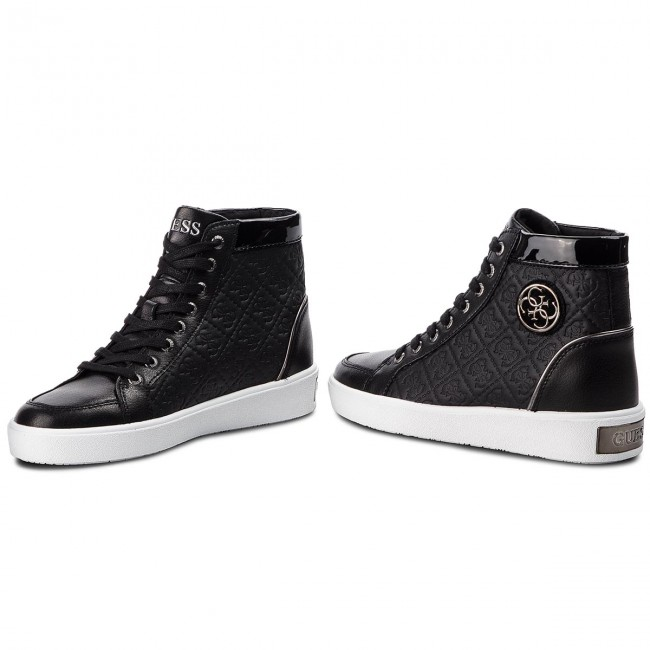 Sneakers GUESS                                                      FLACE3 LEP12 BLACK 7cc269