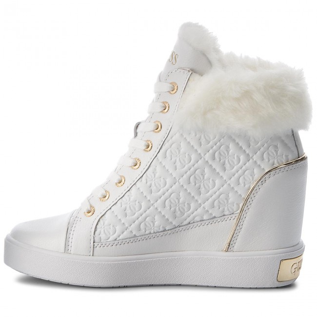 Sneakers GUESS                                                    FLFRR3 LEP12 WHITE