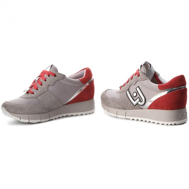 Sneakers LIU JO                                                    Gigi 02 B68023 PX003 Grey/Red S19A7
