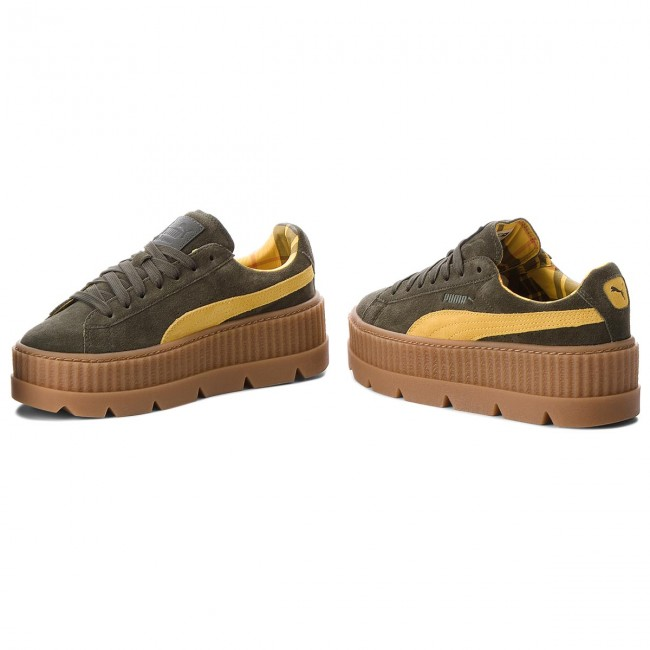 Sneakers PUMA                                                      Cleated CreeperSuede 366268 01 Rosin/Lemon/Vanilla Ice 36529e