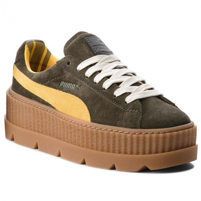 Sneakers PUMA                                                      Cleated CreeperSuede 366268 01 Rosin/Lemon/Vanilla Ice 9e64fb