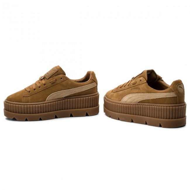 Sneakers PUMA                                                      Cleated CreeperSuede 366268 02 Golden Braun/Lark ae8596