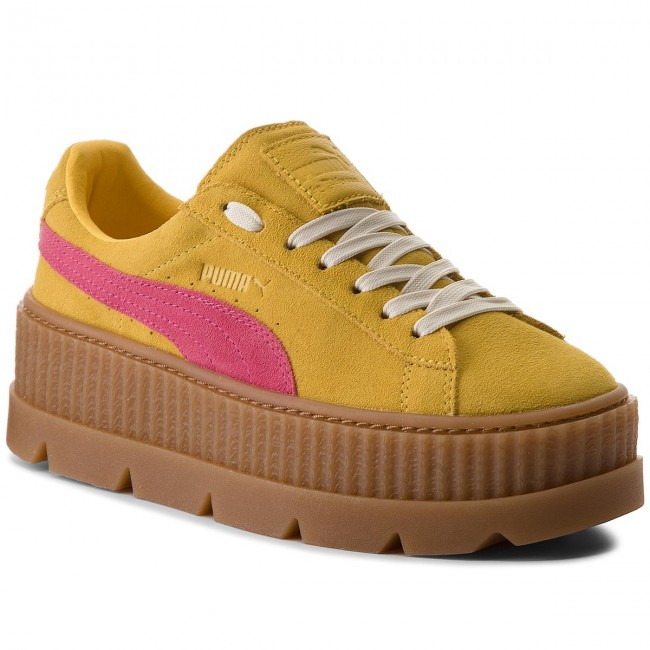 Sneakers PUMA                                                      Cleated CreeperSuede 366268 03 Lemon/Carmine/Vanilla Ide 8083a7