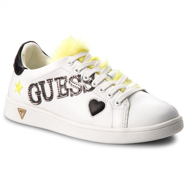 Sneakers GUESS FLUPE3 LEA12 WHIYE Hohe Qualität