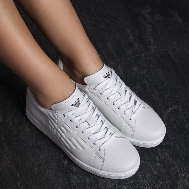 Sneakers Action EA7 EMPORIO ARMANI-Sneaker Action Sneakers X8X001 XCC01 00001 Weiß 90db5d