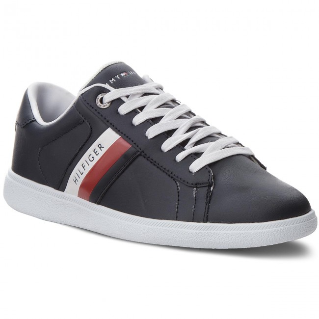 Sneakers TOMMY Midnight HILFIGER-Core Corporate Leath FM0FM01697 Midnight TOMMY 403 33d5da