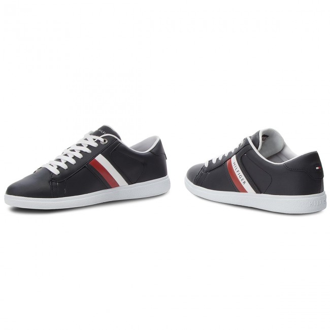 Sneakers TOMMY HILFIGER-Core 403 Corporate Leath FM0FM01697 Midnight 403 HILFIGER-Core 2ad2ae