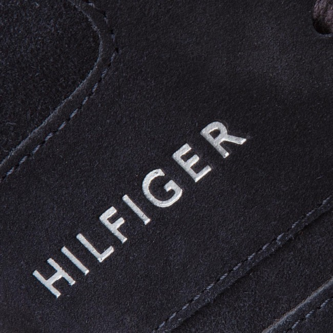 Sneakers FM0FM01731 TOMMY HILFIGER-Iconic Suede Textile FM0FM01731 Sneakers Midnight 403 e76136