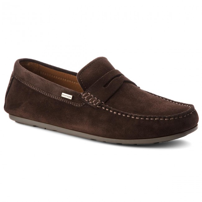 Mokassins TOMMY Coffee HILFIGER-Classic Suede Penny FM0FM01907 Coffee TOMMY Bean 212 b49599