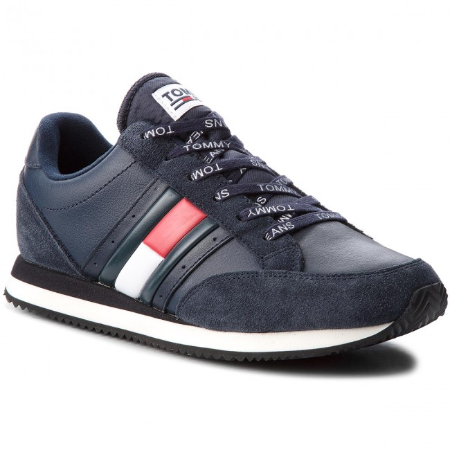 Sneakers TOMMY JEANS-Rwb Casual Retro Sne EM0EM00123  Ink 006