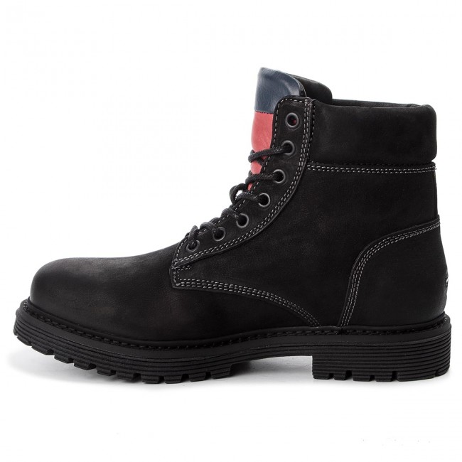Trapperschuhe TOMMY N JEANS-Iconic Tommy Jeans N TOMMY EM0EM00155  990 b65bad