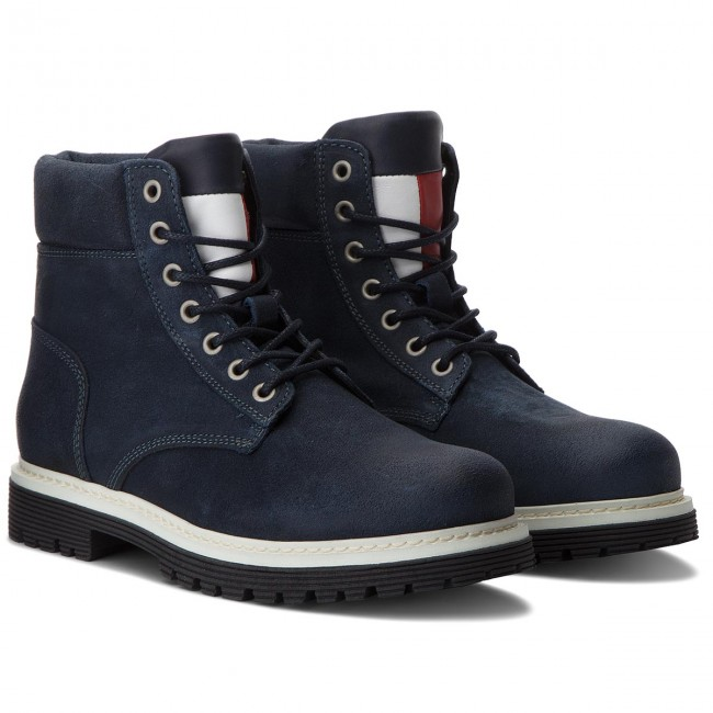 Trapperschuhe TOMMY JEANS-Iconic Ink Tommy Jeans S EM0EM00156 Ink JEANS-Iconic 006 c79c0d