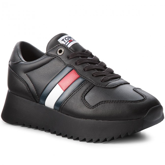 Sneakers TOMMY JEANS                                                    High Cleated Sneaker EN0EN00288 Black 990