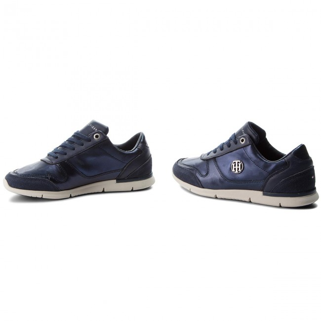 Sneakers TOMMY HILFIGER                                                      Camo Metallic Light Sneaker FW0FW03231 Tommy Navy 406 8a2132