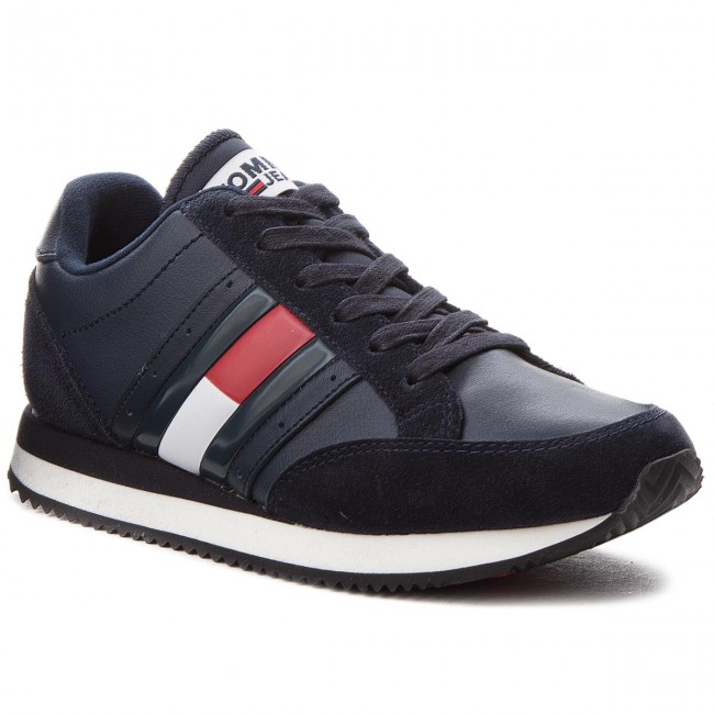 Sneakers TOMMY JEANS                                                      Rwb Casual Retro Sne EN0EN00289  Midnight 403 bf07ba