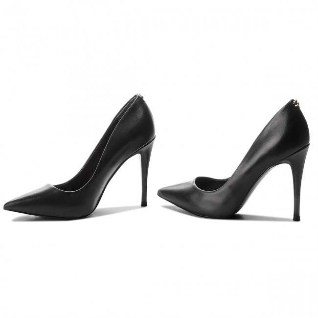 High Heels GUESS                                                      FLOKY4 LEA08  BLACK 0c0c27