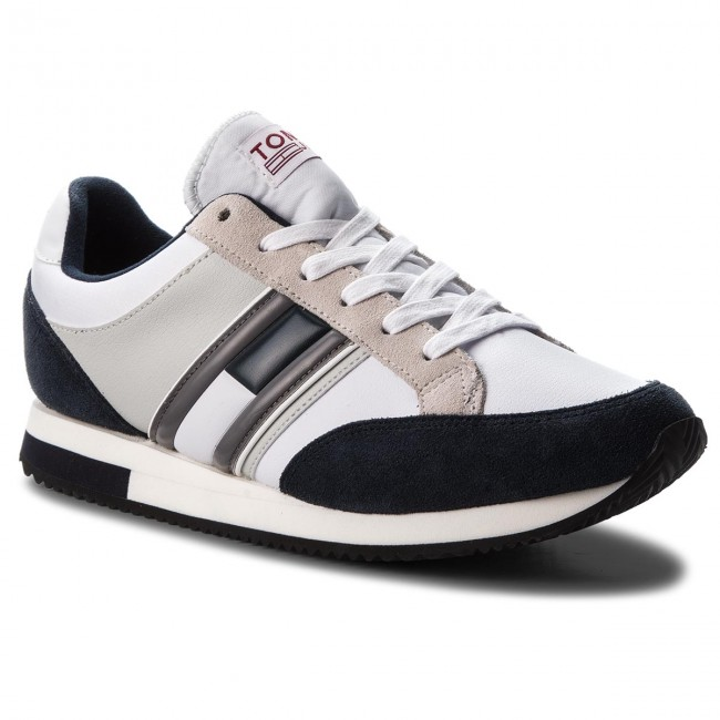 Sneakers TOMMY TOMMY Sneakers JEANS-Casual Retro Sneaker EM0EM00112 Ink/Ice/White 901 4727a6