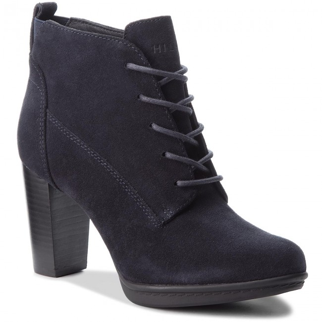 Stiefeletten TOMMY  HILFIGER     TOMMY                                                Basic Lace Up Heel B FW0FW03573 Midnight 403 03783a