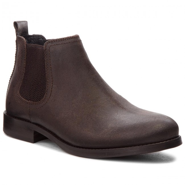Stiefeletten TOMMY JEANS-Casual Chelsea 212 Suede EM0EM00142 Coffee Bean 212 Chelsea a4c762
