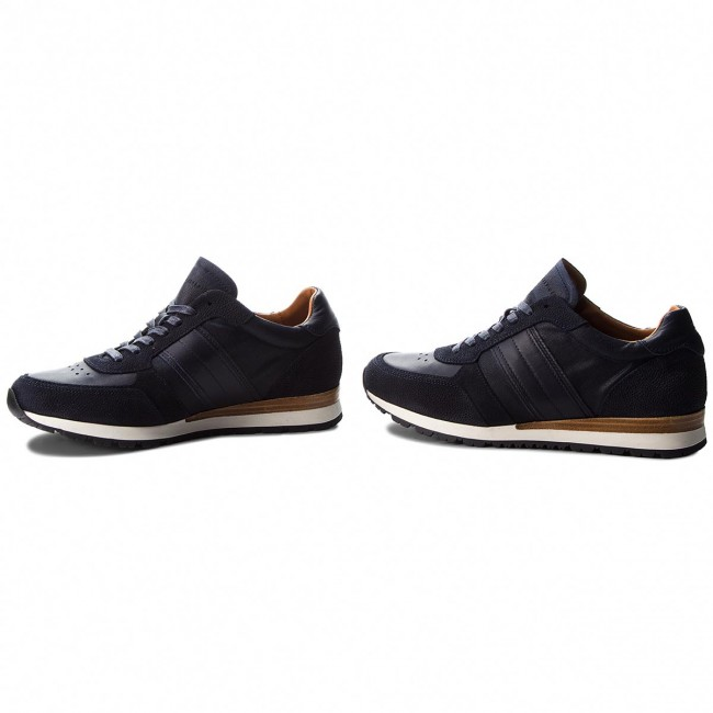 Sneakers TOMMY Mix HILFIGER-Luxury Material Mix TOMMY FM0FM01708 Midnight 403 c97324