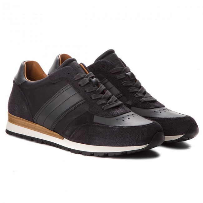Sneakers TOMMY schwarz/Magnet HILFIGER-Luxury Material Mix FM0FM01708 schwarz/Magnet TOMMY 903 896241