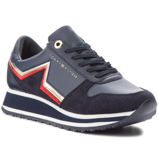 Sneakers TOMMY HILFIGER                                                    Star Retro Runner FW0FW03234  Rwb 020