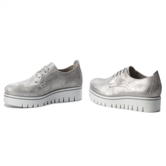 Oxfords TAMARIS                                                      1-23710-30 Silver Metall 933 78703f