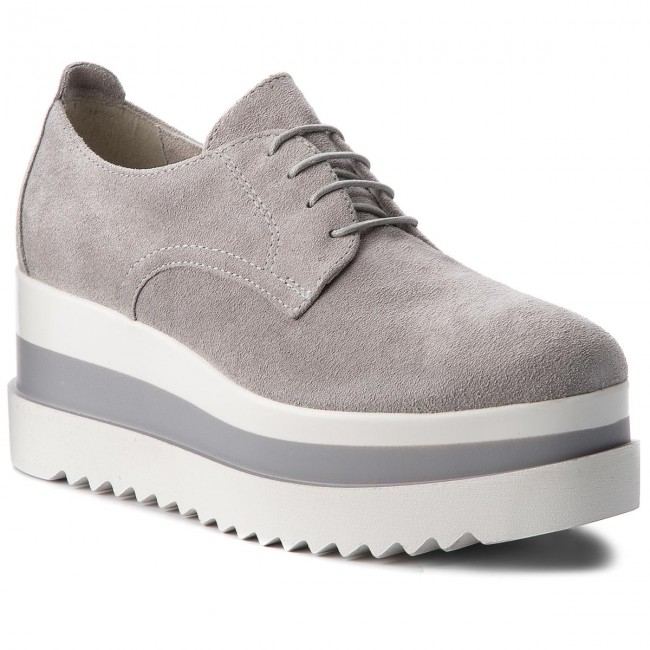 Oxfords TAMARIS                                                      1-23773-30 Light Grau 204 03e264