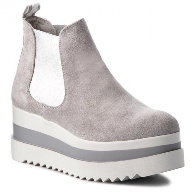 Stiefeletten TAMARIS                                                    1-25409-30 Light Grey 204