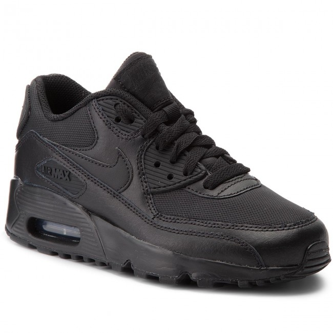 Schuhe NIKE                                                    Air Max 90 Mesh (Gs) 833418 001 Black/Black