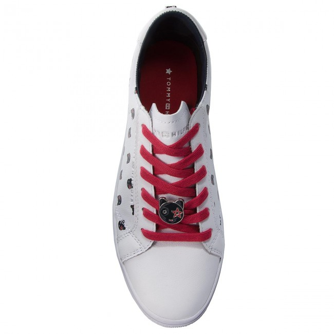 Sneakers TOMMY HILFIGER                                                      Mascot Essential Sneaker FW0FW03619 Weiß 100 0a543c