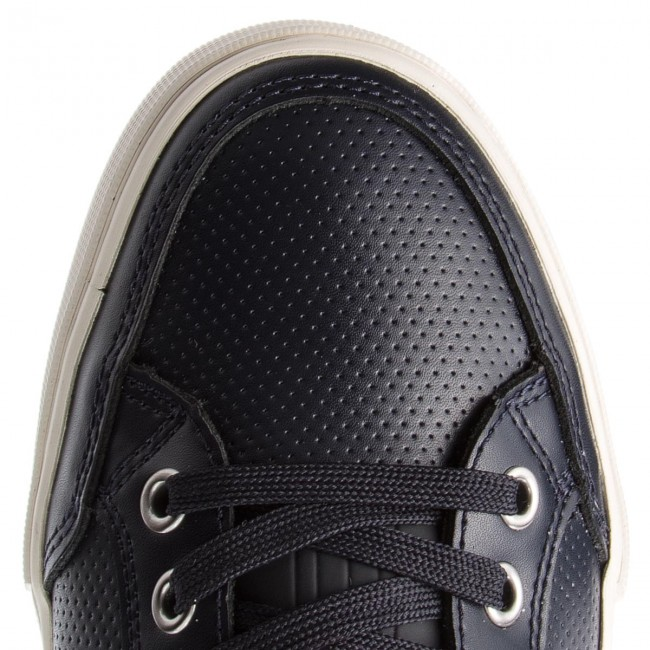 Sneakers Up TOMMY HILFIGER-Core Leder Lace Up Sneakers FM0FM01903 Midnight 403 23cf98