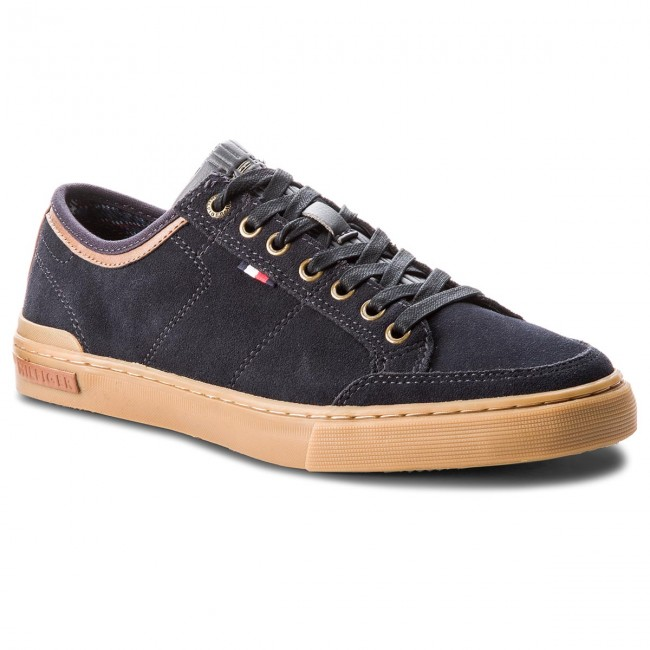 Turnschuhe TOMMY HILFIGER-Core FM0FM01898 Suede Lace Up S FM0FM01898 HILFIGER-Core Midnight 403 8fd46d
