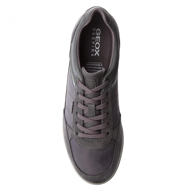 Sneakers GEOX-U Renan B U824GB Anthracite 0CL22 C9004 Anthracite U824GB e5f256