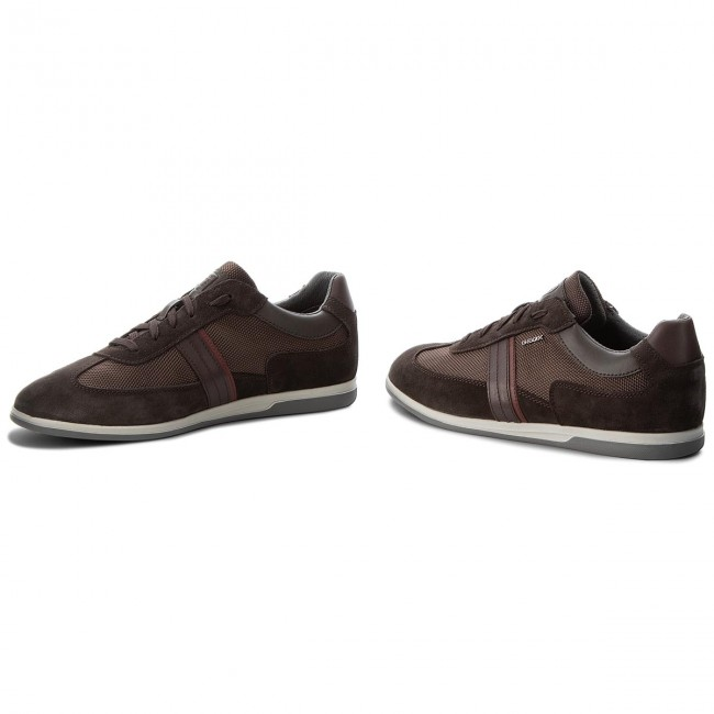 Sneakers GEOX-U Renan C U844GC Coffee 02211 C6024  Dk Coffee U844GC 0bd546