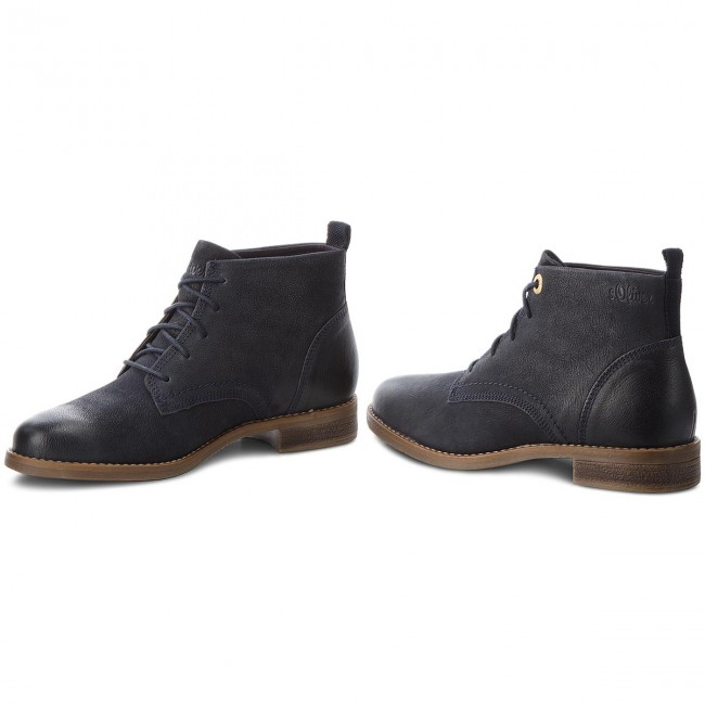 Stiefeletten S.OLIVER                                                      5-25100-31 Navy 805 179a3b
