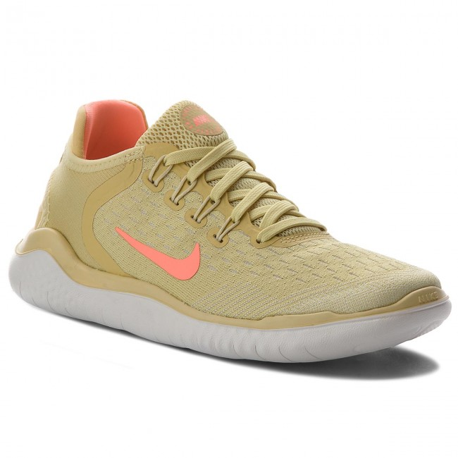 Schuhe NIKE                                                      Free Rn 2018 Summer AO1911 700 Lemon Wash/Crimson Pulse 76d781