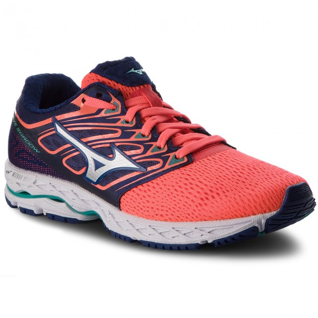 Schuhe MIZUNO                                                      Wave Shadow J1GD173008  Dunkelblau Orange f54623