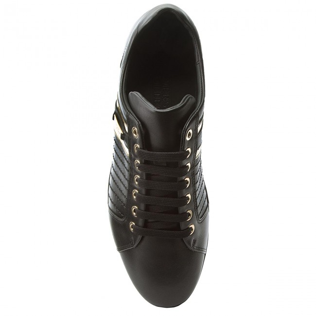 Sneakers VERSACE COLLECTION-V900421 VM00318 V768H V768H VM00318 Nero/Nero/Oro f0860e