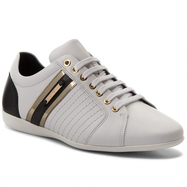 Sneakers VERSACE COLLECTION-V900421 VM00318 VM00318 COLLECTION-V900421 V821H Bianco/Nero/Oro 3abf6e