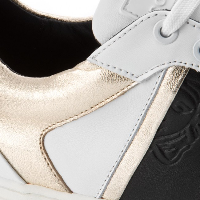 Sneakers VERSACE COLLECTION-V900714 VM00392 VM00392 COLLECTION-V900714 V858 Bianco/Nero/Oro e5366b