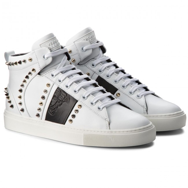 Sneakers VERSACE COLLECTION-V900716 VM00393 VM00393 COLLECTION-V900716 V874 Bianco/Nero/Fdo 768cea